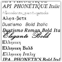ttfsampler sample sheet generator for truetype fonts